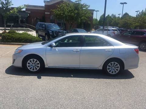 2012 Toyota Camry for sale at Southern Auto Solutions in Marietta GA