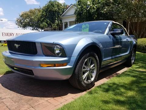 2005 Ford Mustang for sale at Southern Auto Solutions - Georgia Car Finder in Marietta GA