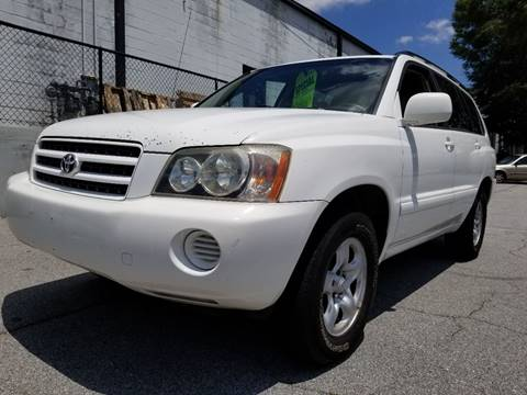 2003 Toyota Highlander for sale at Southern Auto Solutions - Georgia Car Finder in Marietta GA