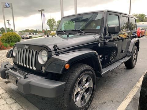 2016 Jeep Wrangler Unlimited for sale in Marietta, GA
