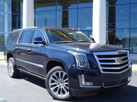 2019 Cadillac Escalade ESV for sale at Southern Auto Solutions - Georgia Car Finder - Southern Auto Solutions - Capital Cadillac in Marietta GA