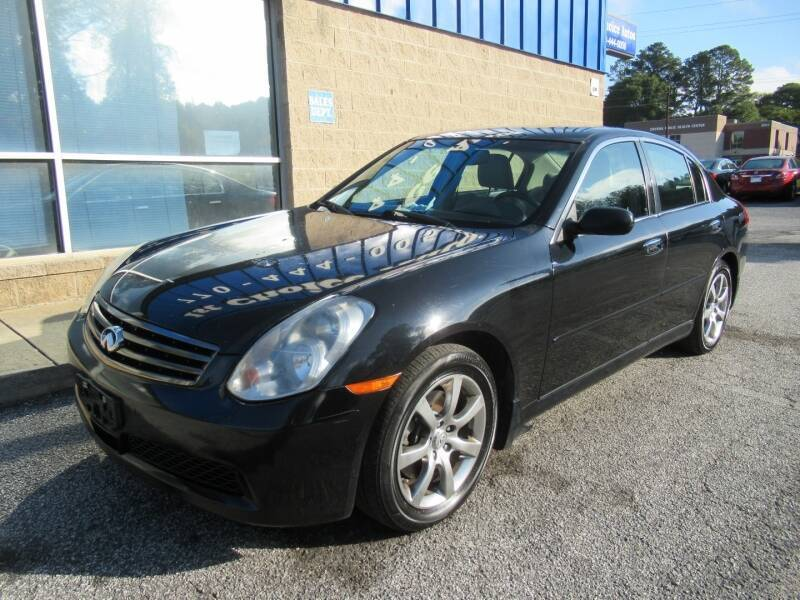 2006 Infiniti G35 for sale at Southern Auto Solutions - Georgia Car Finder - Southern Auto Solutions - 1st Choice Autos in Marietta GA