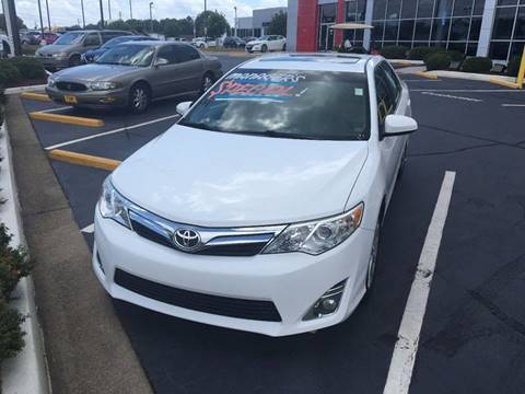 2012 Toyota Camry for sale at Southern Auto Solutions - Georgia Car Finder in Marietta GA