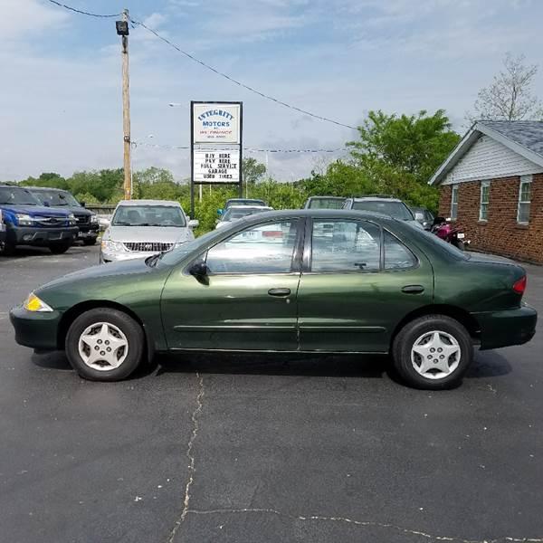 2000 Chevrolet Cavalier In Richmond In Integrity Motors Inc