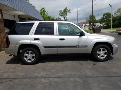 2004 Chevrolet Trailblazer >> Chevrolet Trailblazer For Sale In Richmond In Integrity Motors Inc