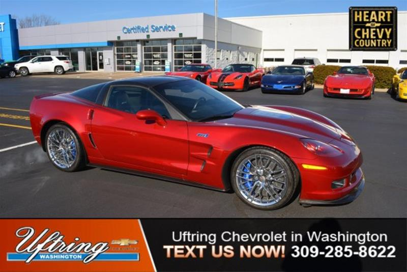 2010 Chevrolet Corvette ZR1 2dr Coupe W/ 3ZR   Washington IL