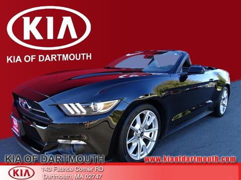 2015 Ford Mustang for sale in North Dartmouth, MA