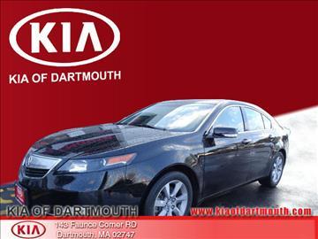2013 Acura TL for sale in North Dartmouth, MA