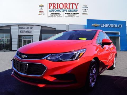 2017 Chevrolet Cruze for sale in S. Attleboro, MA