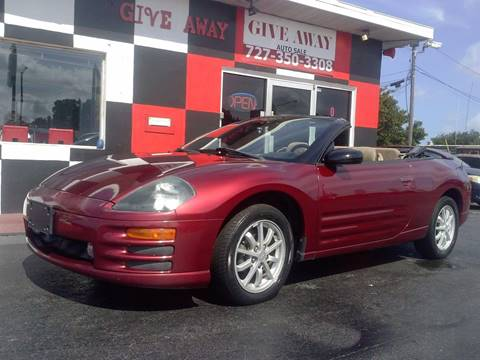 2001 Mitsubishi Eclipse Spyder for sale in Pinellas Park, FL