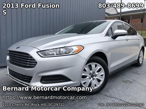 2013 Ford Fusion for sale in Fort Mill, SC