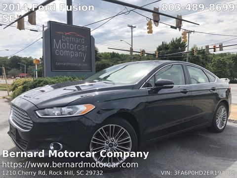 2014 Ford Fusion for sale in Rock Hill, SC