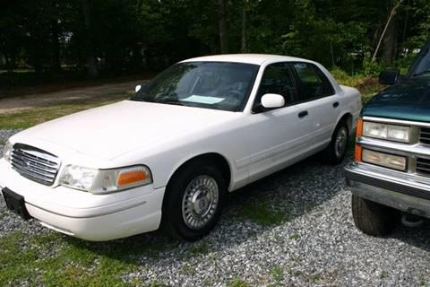 2001 Ford Crown Victoria for sale at Hembree's Auto Sales in Greensboro NC