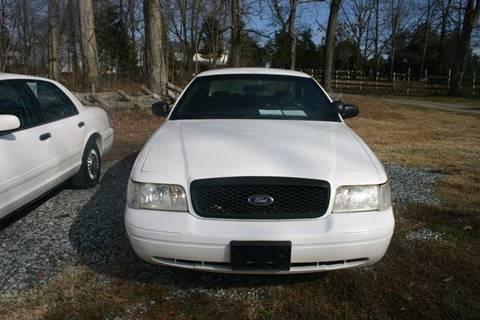2003 Ford Crown Victoria for sale at Hembree's Auto Sales in Greensboro NC