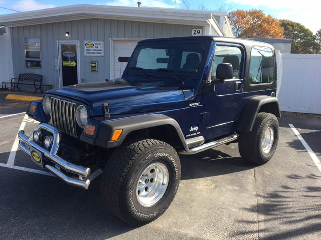 2003 Jeep Wrangler For Sale At Platinum Auto Sales In South Yarmouth MA
