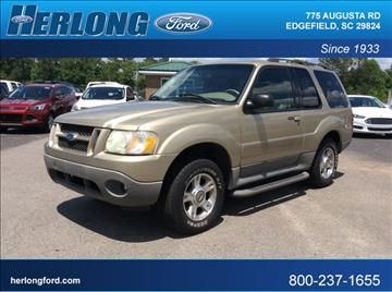 2003 Ford Explorer Sport for sale in Edgefield, SC