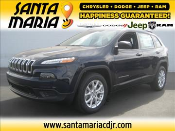 2016 Jeep Cherokee for sale in Santa Maria, CA