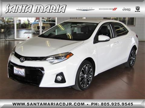 2016 Toyota Corolla For Sale In Santa Maria, CA