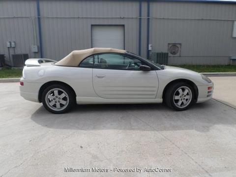 2001 mitsubishi eclipse spyder for sale in kingwood tx