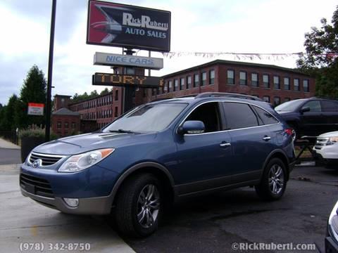 2012 Hyundai Veracruz for sale in Fitchburg, MA