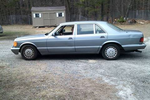 1988 Mercedes-Benz 420-Class for sale at MIKE B CARS LTD in Hammonton NJ
