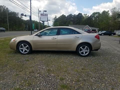 2007 Pontiac G6 for sale at MIKE B CARS LTD in Hammonton NJ