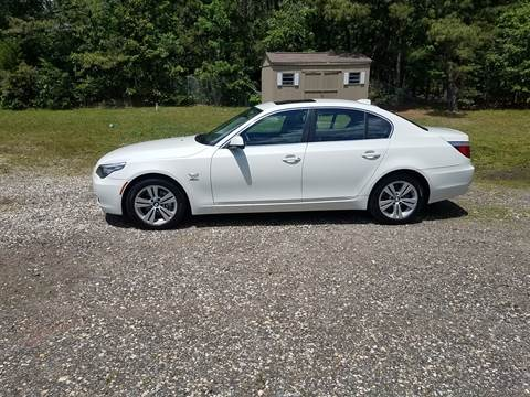 2010 BMW 5 Series for sale at MIKE B CARS LTD in Hammonton NJ