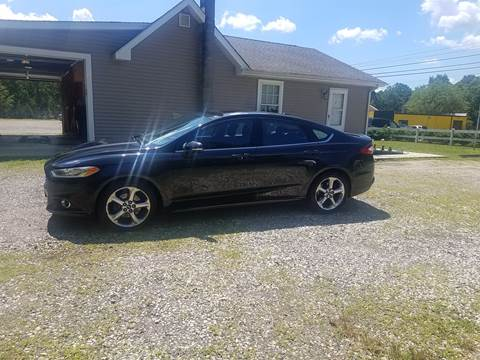 2013 Ford Fusion for sale at MIKE B CARS LTD in Hammonton NJ