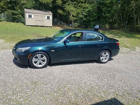 2009 BMW 5 Series for sale at MIKE B CARS LTD in Hammonton NJ