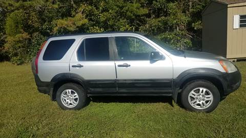 2002 Honda CR-V for sale at MIKE B CARS LTD in Hammonton NJ