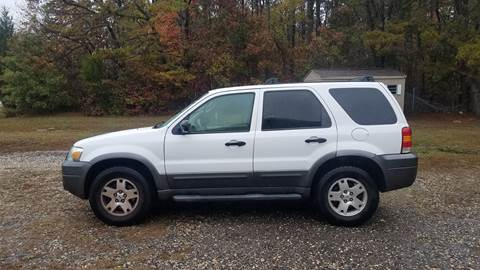 2006 Ford Escape for sale at MIKE B CARS LTD in Hammonton NJ