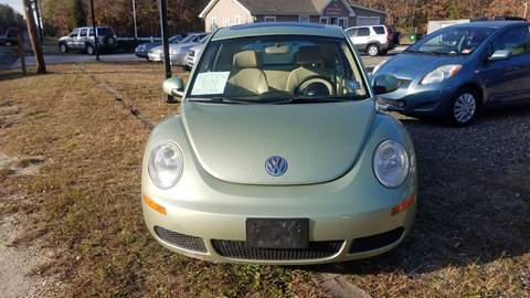 2007 Volkswagen New Beetle for sale at MIKE B CARS LTD in Hammonton NJ