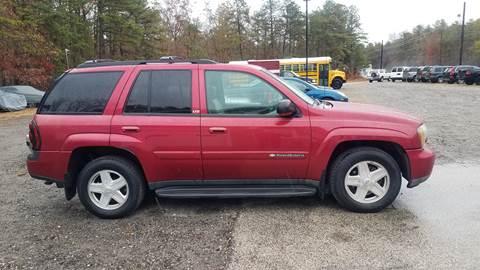 2002 Chevrolet TrailBlazer for sale at MIKE B CARS LTD in Hammonton NJ