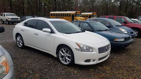 2009 Nissan Maxima for sale at MIKE B CARS LTD in Hammonton NJ