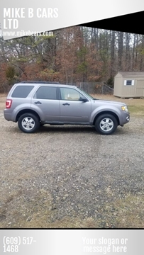 2008 Ford Escape for sale at MIKE B CARS LTD in Hammonton NJ