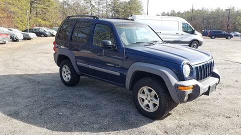 2002 Jeep Liberty for sale at MIKE B CARS LTD in Hammonton NJ