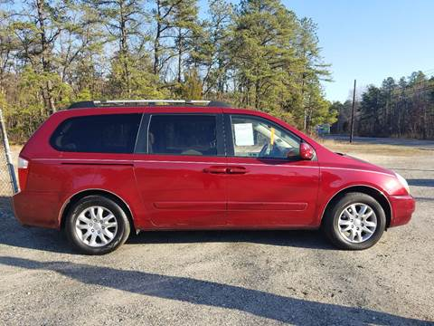 2007 Kia Sedona for sale at MIKE B CARS LTD in Hammonton NJ