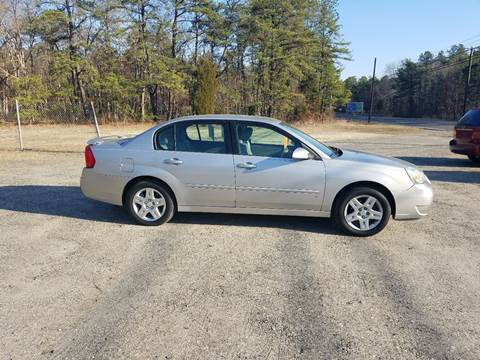 2007 Chevrolet Malibu for sale at MIKE B CARS LTD in Hammonton NJ