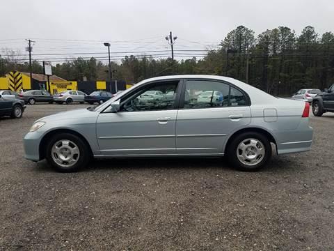 2004 Honda Civic for sale at MIKE B CARS LTD in Hammonton NJ