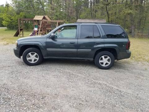 2005 Chevrolet TrailBlazer for sale at MIKE B CARS LTD in Hammonton NJ