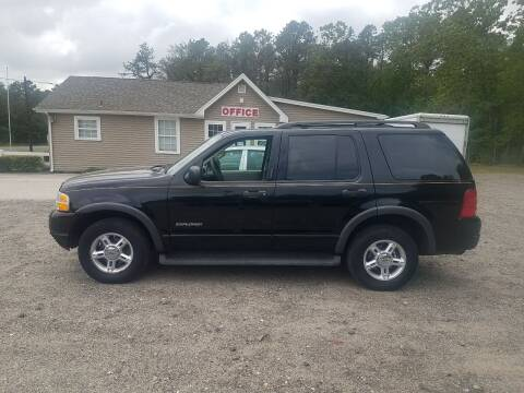 2004 Ford Explorer for sale at MIKE B CARS LTD in Hammonton NJ