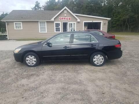 2003 Honda Accord for sale at MIKE B CARS LTD in Hammonton NJ