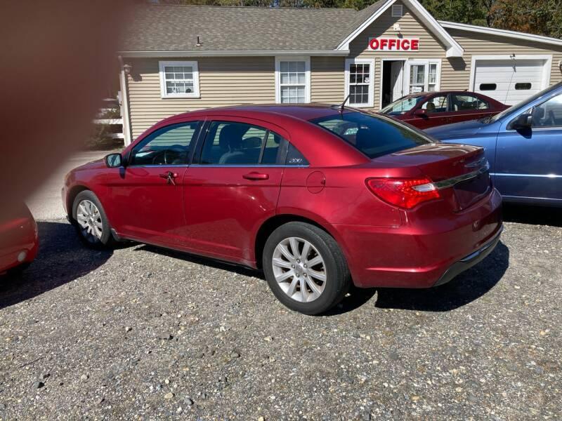 2011 Chrysler 200 for sale at MIKE B CARS LTD in Hammonton NJ