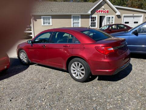 2011 Chrysler 200 for sale at MIKE B CARS LTD in Hammonton NJ