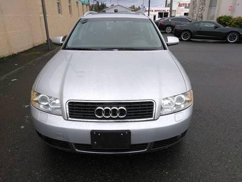 Audi A Avant In Tacoma WA Prestige Auto Connection - 2002 audi a4