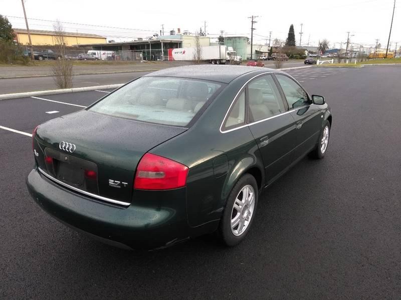 2000 Audi A6 AWD 4dr 2.7T quattro Turbo Sedan In Tacoma WA ...