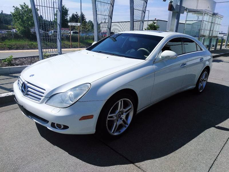 2007 mercedes benz cls cls 550 4dr sedan in tacoma wa. Black Bedroom Furniture Sets. Home Design Ideas