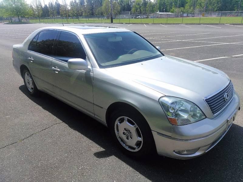2002 Lexus LS 430 For Sale At Prestige Auto Connection In Tacoma WA