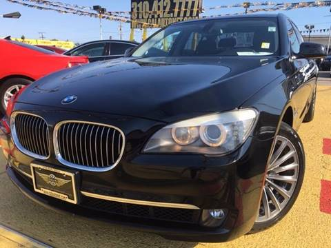 2012 BMW 7 Series for sale in Lennox, CA