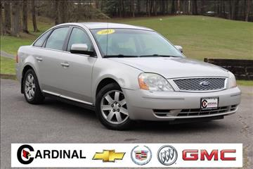 2007 Ford Five Hundred for sale in Hazard, KY